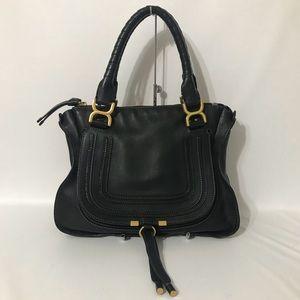 Authentic Chloe Medium Marcie Black Shoulder Bag